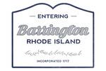 Barrington, Rhode Island - Now Entering - Lantern Press Artwork