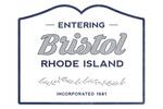 Bristol, Rhode Island - Now Entering - Lantern Press Artwork