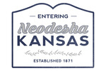 Neodesha, Kansas - Est 1871 - Now Entering - Lantern Press Artwork