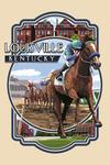 Louisville, Kentucky - Montage Scenes - Contour - Lantern Press Artwork
