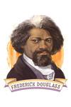 19th Amendment Centennial Art - Frederick Douglass - Contour - Lantern Press Artwork