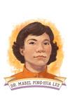 19th Amendment Centennial Art - Mabel Lee - Contour - Lantern Press Artwork