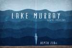 Lake Murray, South Carolina - Lake Essentials - Lake Depth Lantern Press Artwork