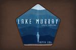 Lake Murray, South Carolina - Lake Essentials - Lake Depth - Contour - Lantern Press Artwork
