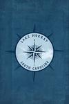 Lake Murray - South Carolina - Compass and Lake - Contour - Lantern Press Artwork