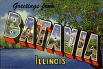 Batavia, Illinois - Selected Views of Batavia, Illinois - Vintage Artwork