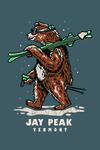 Jay Peak, Vermont - Ski Bear - Lantern Press Artwork