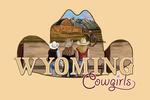 Wyoming - Wyoming Cowgirls - Contour - Lantern Press Artwork