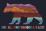 Great Smoky Mountains - Not all Who Wander - Lantern Press Artwork