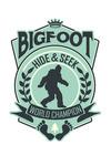 Bigfoot Hide and Seek World Champion - Contour - Lantern Press Artwork
