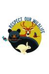 Respect Our Wildlife - Contour - Lantern Press Artwork