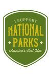 National Parks - I Support - Contour - Lantern Press Artwork