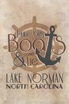Lake Norman, North Carolina - I Like Big Boats & I Cannot Lie - Lantern Press Artwork