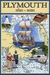 Plymouth, Massachusetts - 1620 - 2020 - Nautical Chart - Lantern Press Artwork