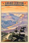 Grand Canyon National Park, Arizona - Desert View - Lithograph National Park Series - Lantern Press Artwork