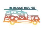 Beach Bound - Contour - Lantern Press Artwork