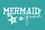 Mermaid Squad - Contour - Lantern Press Artwork