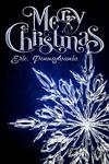 Erie, Pennsylvania - Merry Christmas - Snowflake - Lantern Press Artwork