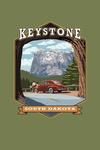 Keystone, South Dakota - Tunnel Scene - Contour - Lantern Press Artwork