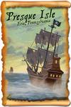 Erie, Pennsylvania - Presque Isle - Pirate Ship - Lantern Press Artwork