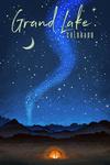 Grand Lake, Colorado - Night Sky & Tent - Lantern Press Artwork