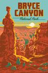 Bryce Canyon National Park, Utah - Explorer Series - Bryce Canyon - Lantern Press Artwork