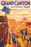 Grand Canyon National Park, Arizona - Explorer Series - Grand Canyon - Lantern Press Artwork