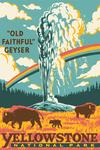Yellowstone National Park, Wyoming - Explorer Series - Old Faithful Geyser