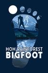 Washington - Hoh Rainforest - Bigfoot Print - Contour - Lantern Press Artwork