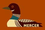Mercer, Wisconsin - Loon - Geometric - Lantern Press Artwork