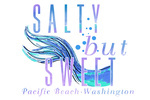 Pacific Beach, Washington - Salty but Sweet  - Mermaid Tale - Contour - Lantern Press Artwork
