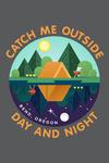 Bend, Oregon - Catch Me Outside Day & Night - Lantern Press Artwork