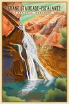 Grand Staircase-Escalante National Monument, Utah - Lithograph - Lantern Press Artwork