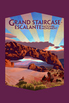 Grand Staircase-Escalante National Monument, Utah - Contour - Lantern Press Artwork (lp_archive)