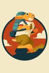 Animal Activities Series - Hiking Hare