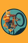 Animal Activities Series - Mountain Lion Mountain Biking