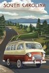 South Carolina - Camper Van & Lake