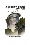 Chimney Rock State Park, North Carolina - Chimney Rock - Lithograph - Contour - Lantern Press Artwork