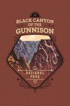 Black Canyon of the Gunnison National Park, Colorado - Painterly National Park Series - Contour