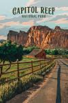 Capital Reef National Park, Utah - Painterly National Park Series
