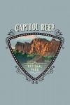 Capital Reef National Park, Utah - Painterly National Park Series - Contour