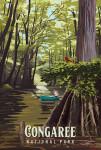 Congaree National Park, South Carolina - Painterly National Park Series