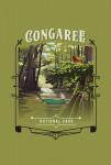 115724 - Congaree National Park, South Carolina - Painterly National Park Series - Contour