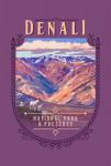 115732 - Denali National Park, Alaska - Painterly National Park Series - Contour