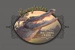 115736 - Everglades National Park, Florida - Painterly National Park Series - Contour