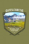 115738 - Gates of the Arctic National Park, Alaska - Painterly National Park Series - Contour