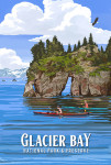 Glacier Bay National Park, Alaska - Painterly National Park Series