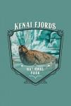 Kenai Fjords National Park, Alaska - Painterly National Park Series - Contour