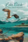 Lake Clark National Park, Alaska - Painterly National Park Series
