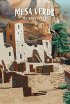 Mesa Verde National Park, Colorado - Painterly National Park Series